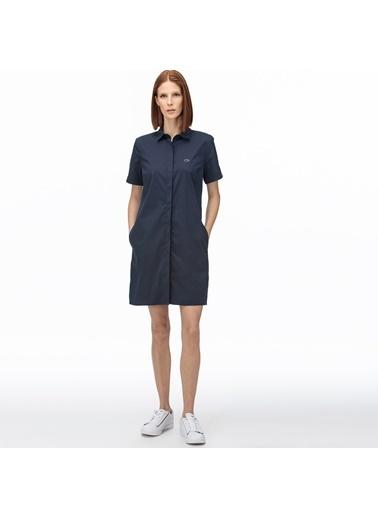 Lacoste Kadın Kısa Kollu Elbise EF0021.21L Lacivert